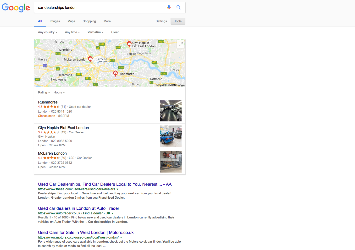 seo for automotive industry